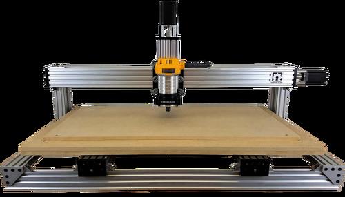 CNC Станок режет материалы