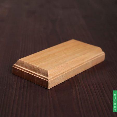 Деревянное основание для сувенирных моделей из бука