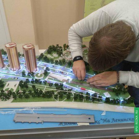 Восстановление макета жилого комплекса