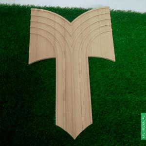 Форма для гипсовой лепнины из бука 600х380 мм