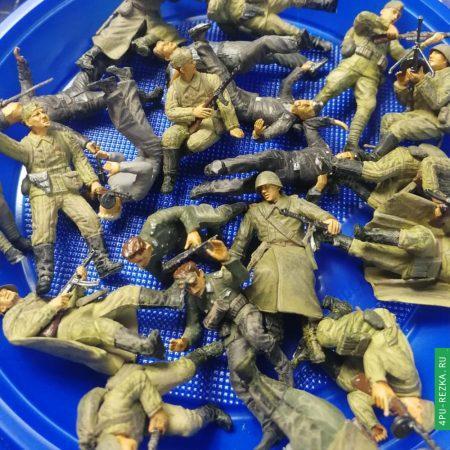 Военные фигурки на заказ