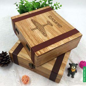 Деревянная упаковка для подарков