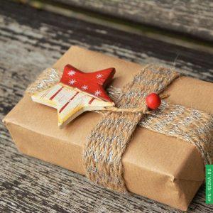Услуги по упаковке подарков
