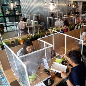 Защита от коронавируса в кафе и ресторанах