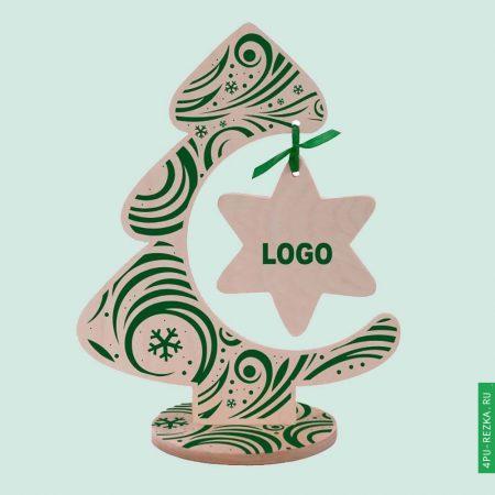 Новогодняя елка с логотипом сувенир