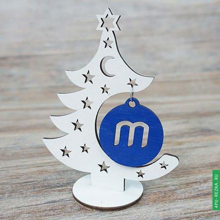 Новогодняя елка с логотипом - сувенир