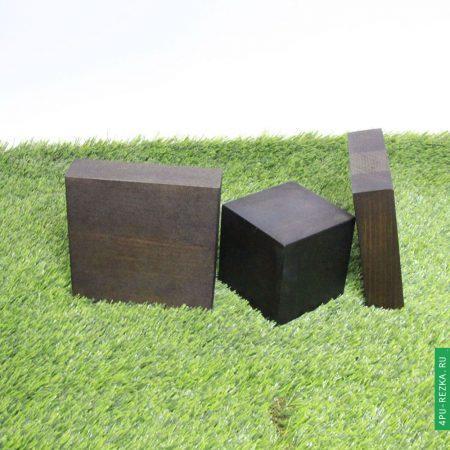 Квадратные и прямоугольные подставки из бука и сосны